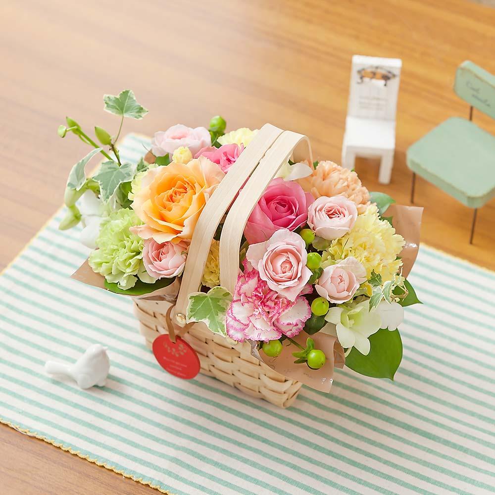母の日 アレンジメント「a Little Garden~優しい時間~」