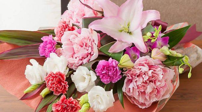 母の日 花束「麗しの時間~美人花を添えて~」