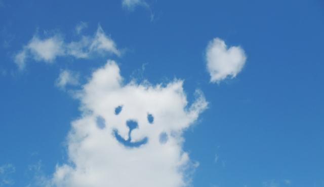 雲ほっこり