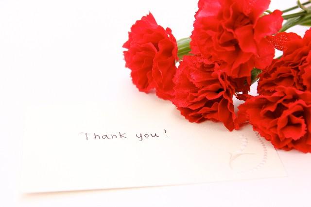 母の日手紙